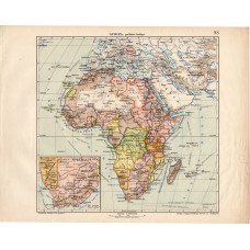 Africa political map 1913