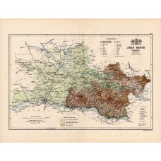 Arad county map 1888