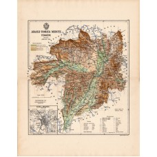 Abauj - Torna county map 1888 (2)