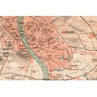 Map of Budapest 1886