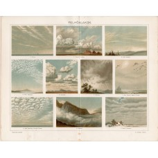 Clouds, lithography 1896