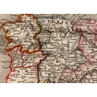 Spain and Portugal map 1840