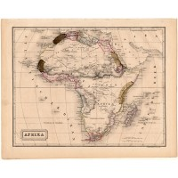 Africa map 1840