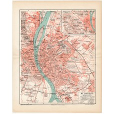 Budapest map 1902