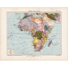 Africa political map 1906