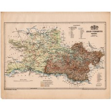 Arad county map 1899